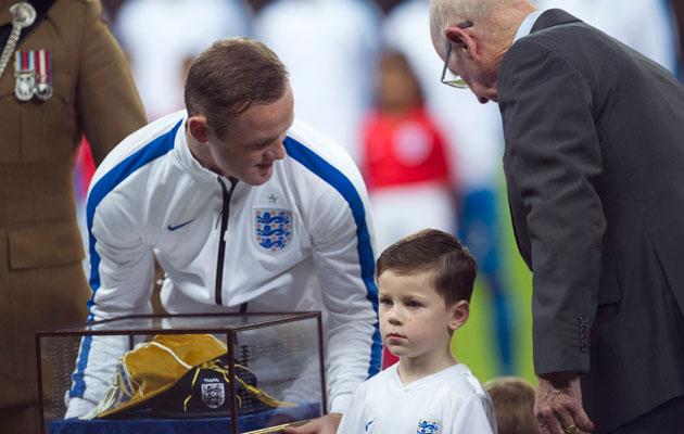 Wayne Rooney 100 caps