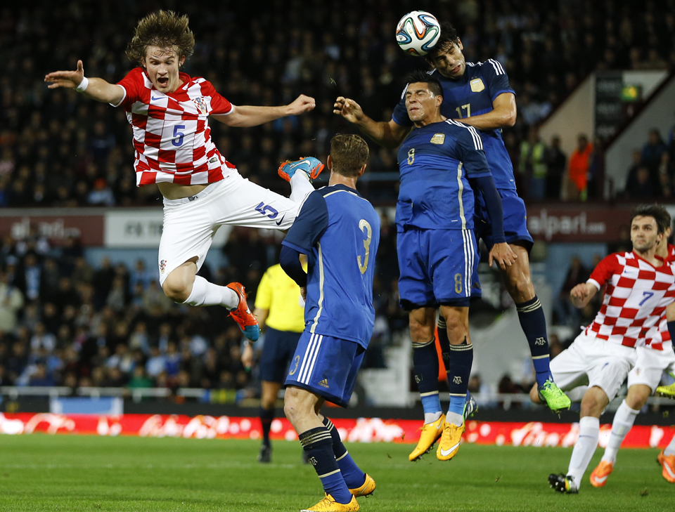 Britain Argentina Croatia Soccer