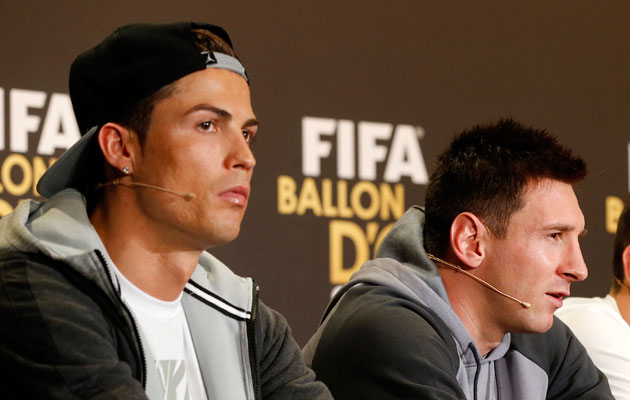 Stat of the day: Lionel Messi + Cristiano Ronaldo = indifference