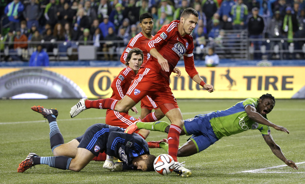 MLS FC Dallas Sounders Soccer