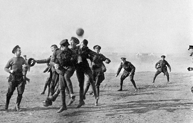 Image result for football wwi