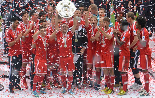 Bayern Munich Bundesliga champions