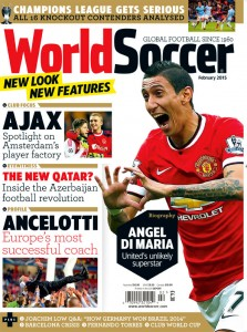 World Soccer February 2015 cover