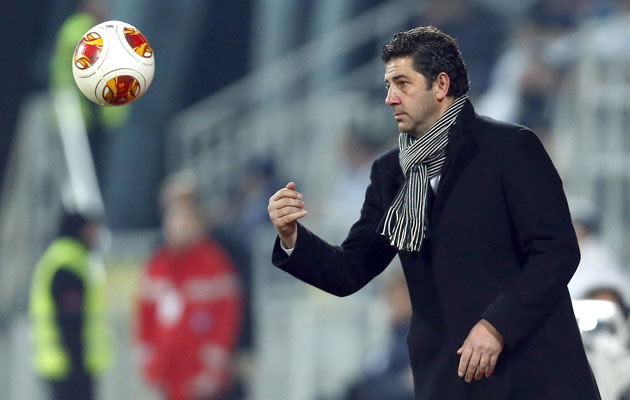 Guimaraes' head coach Rul Vitoria
