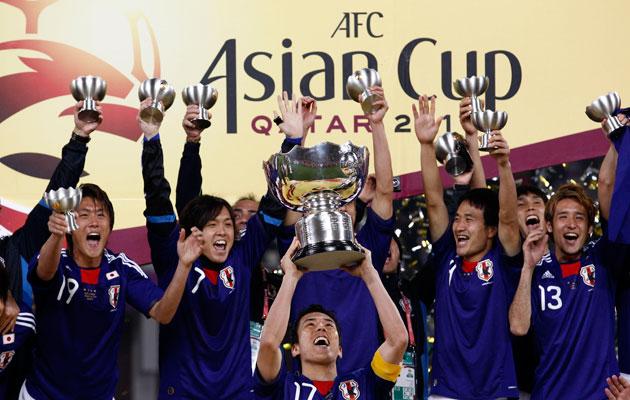 Japan 2011 Asian Cup winners