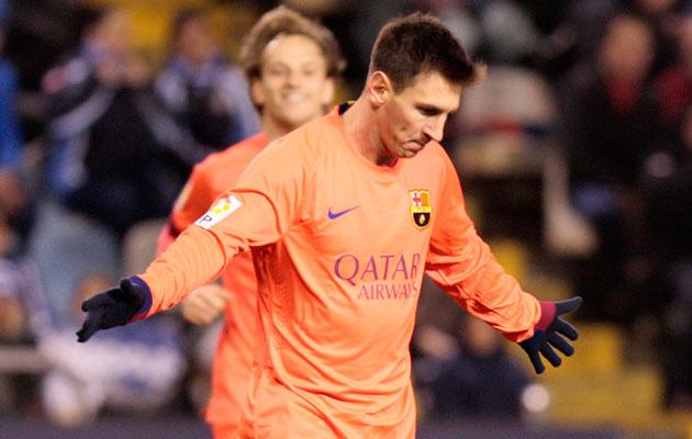 Lionel Messi Deportivo hat-trick
