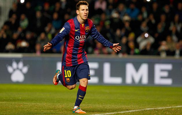 Lionel Messi Elche
