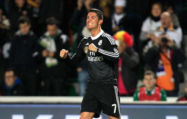 Cristiano Ronaldo Elche