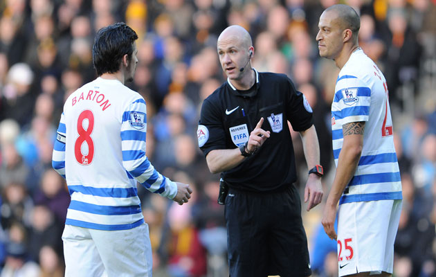 Joey Barton red card