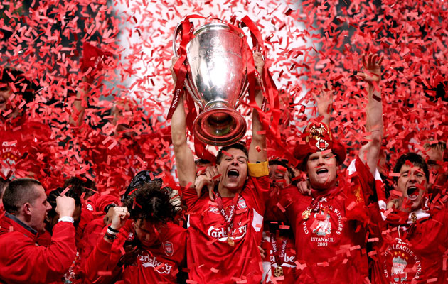 Liverpool 2005 Champions League