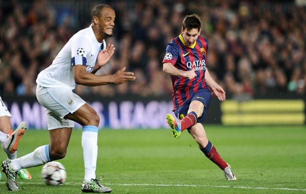 Messi Barcelona Man City