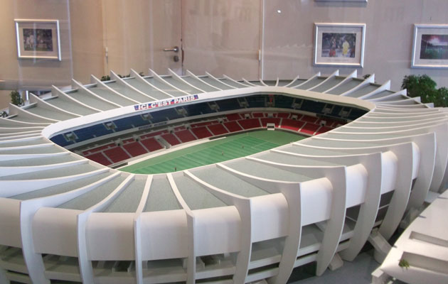 New feature! Stadium Guide: Parc des Princes