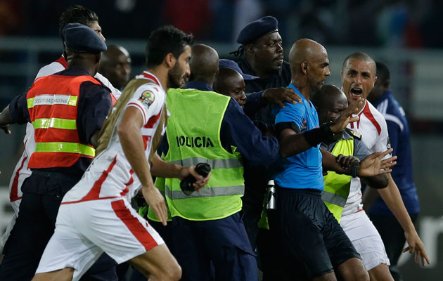 Referee given six-month ban
