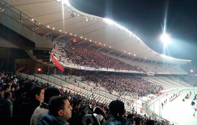 Ataturk Olympic stadium.