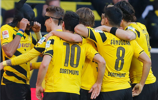 Dortmund Schalke Aubameyang batman