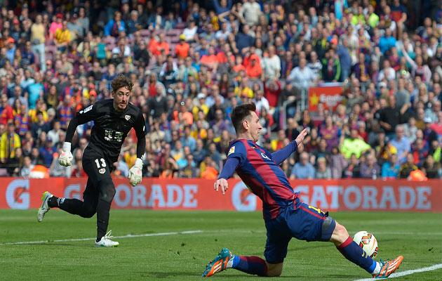 Lionel Messi Ray Vallecano