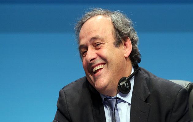 Michel Platini UEFA Congres