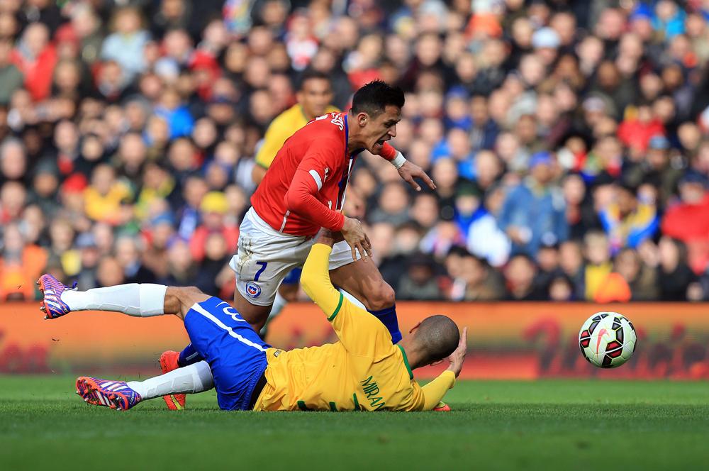 Soccer - International Friendly - Brazil v Chile - Emirates Stadium