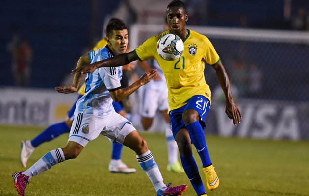 Despite impressing for Brazil at the South American U-20 championships, Gerson is deemed surplus to requirements.