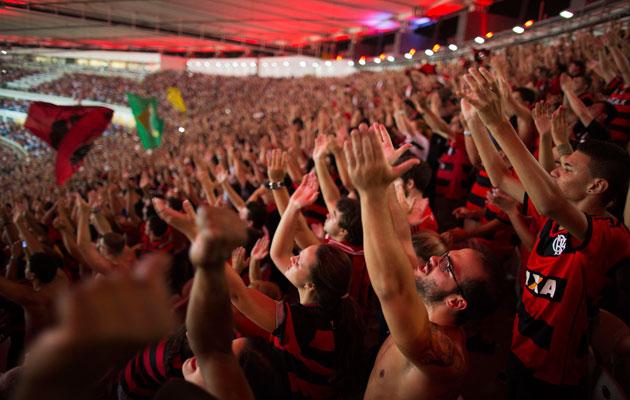 Flamengo fans Brazil