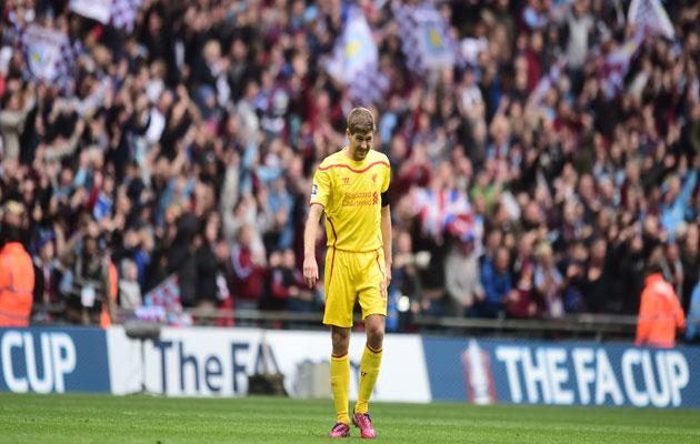 Steven Gerrard Aston Villa