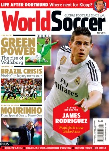 World Soccer May 2015