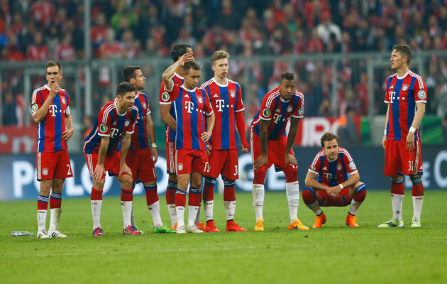 Bayern shootout defeat