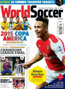 World Soccer June 2015 cover