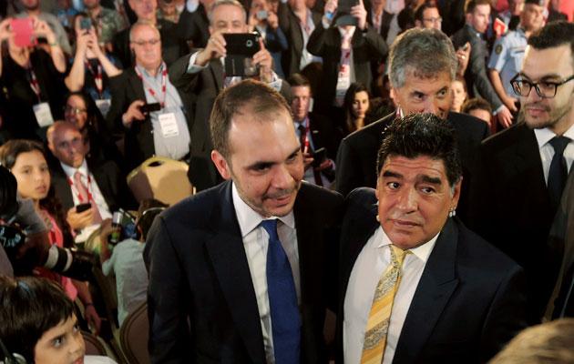 Prince Ali Diego Maradona