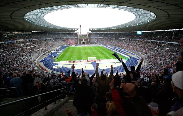 Plätze Olympiastadion