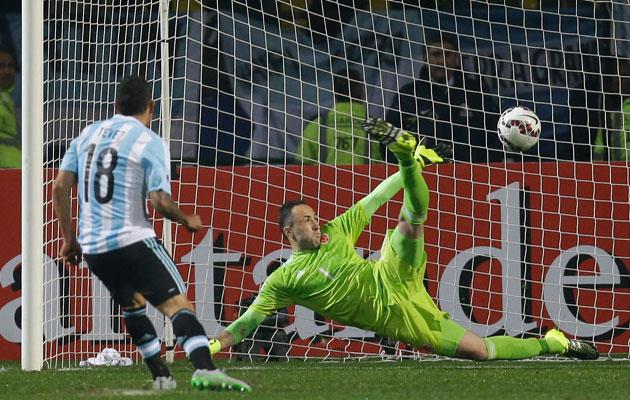 Carlos Tevez Copa America
