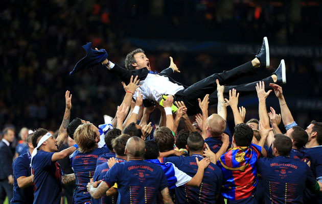 Luis Enrique staying