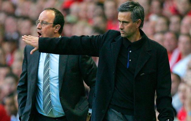 Rafa Benitez Jose Mourinho