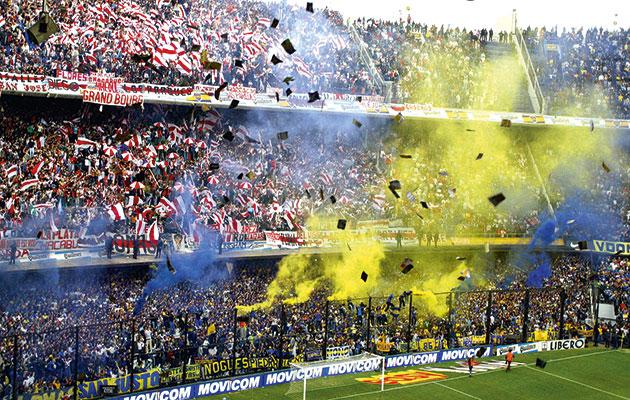 boca juniors river plate fans ile ilgili görsel sonucu