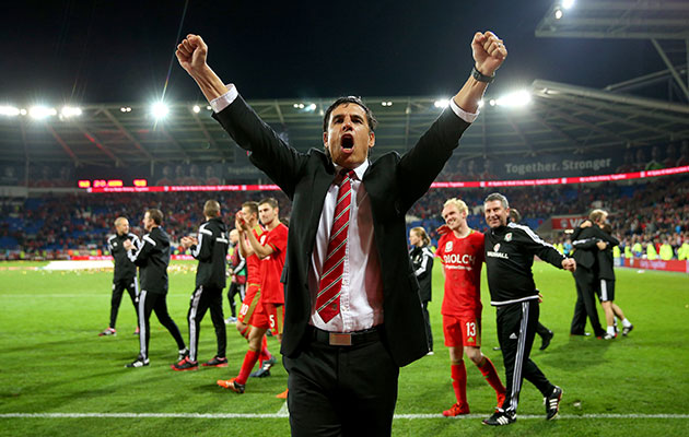 Wales coach Chris Coleman has got all the players pulling in the right direction.