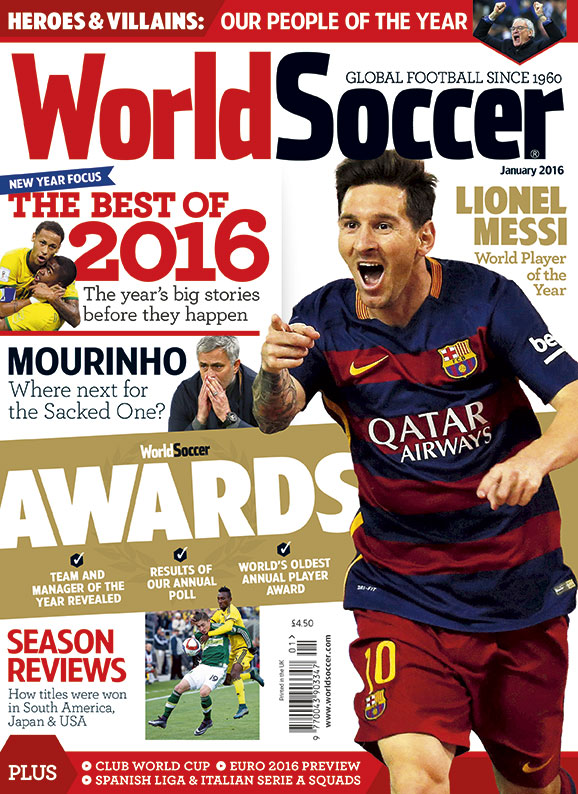Magazine article about the fifa world