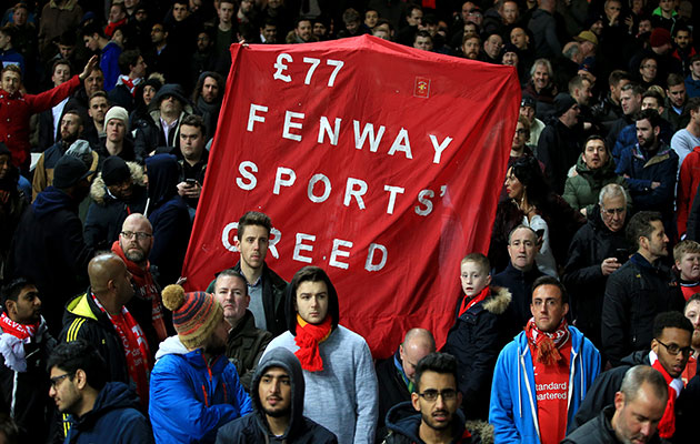 Liverpool back down in face of fan protest