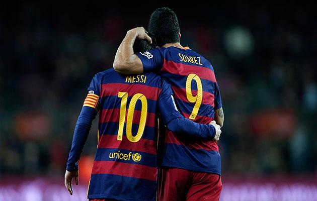 Lionel Messi Luis Suarez