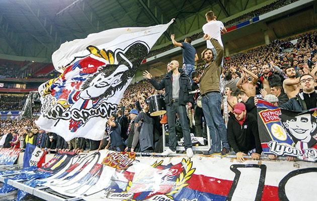 Lyon fans