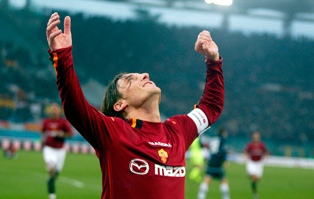 The end of the line for Francesco Totti?