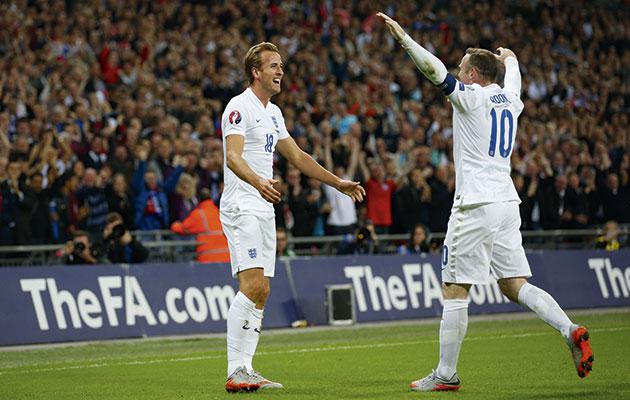 Harry Kane Wayne Rooney