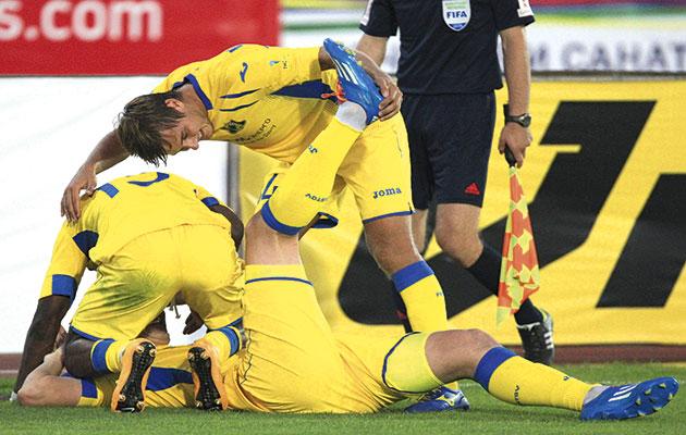 Rostov celebrate