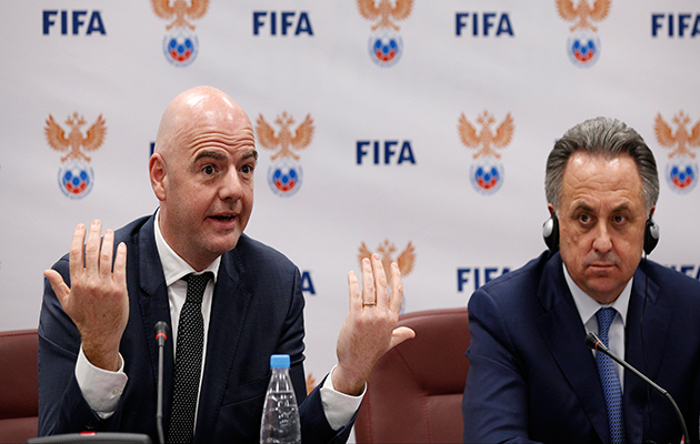 Russian Soccer Chief Barred From FIFA Reelection