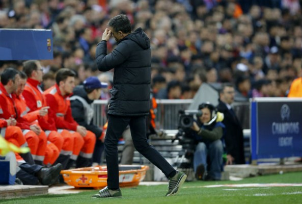 Luis Enrique has taken responsibility for his side's loss