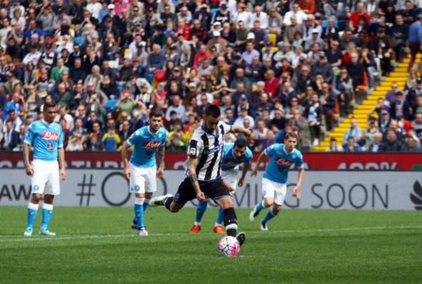 Napoli lose 3-1 to Udinese