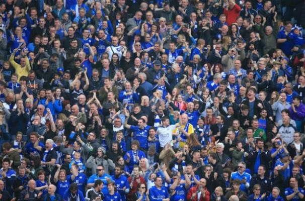Money talks. Premier League Crowd