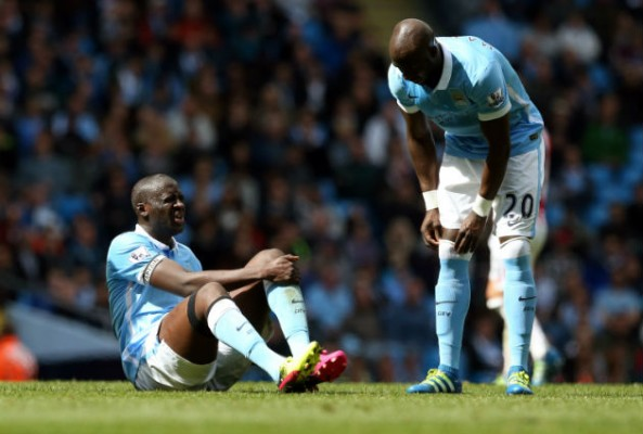 Yaya Toure will miss the Real Madrid game
