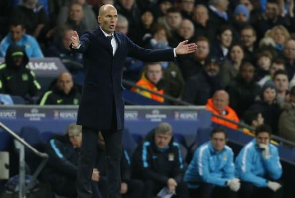 Real Madrid's performance impressed Zinedine Zidane