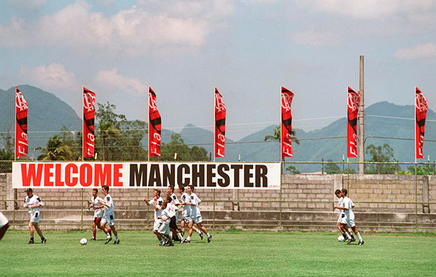 PR Disaster...Manchester United snubbed local fans in 2000 and squandered an opportunity to spread the word.