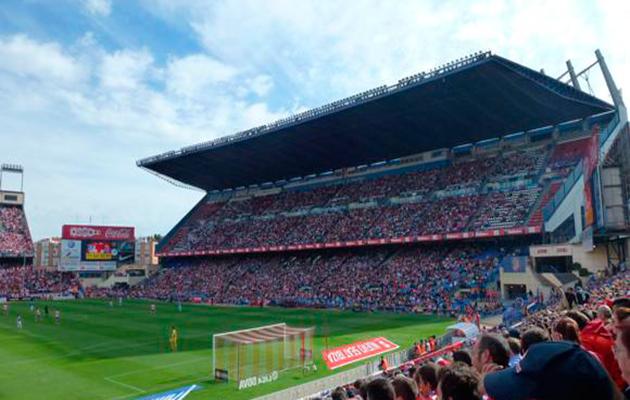 Atletico Madrid Vicente Calderon
